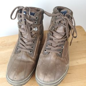 Pajar brown leather winter boots, -30c